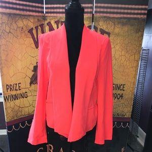 Charlotte Russe Blazer Florescent Pink NWT